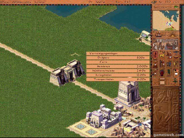 Kleopatra: Königin des Nils - Screenshots - Bild 7