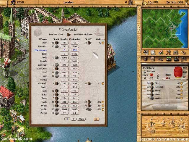 Patrizier II - Screenshots - Bild 11