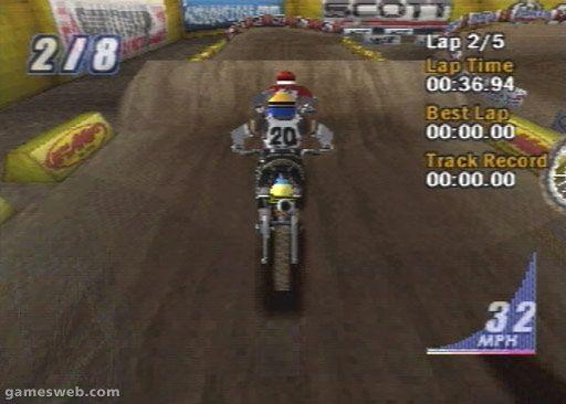 Supercross 2001 - Screenshots - Bild 15