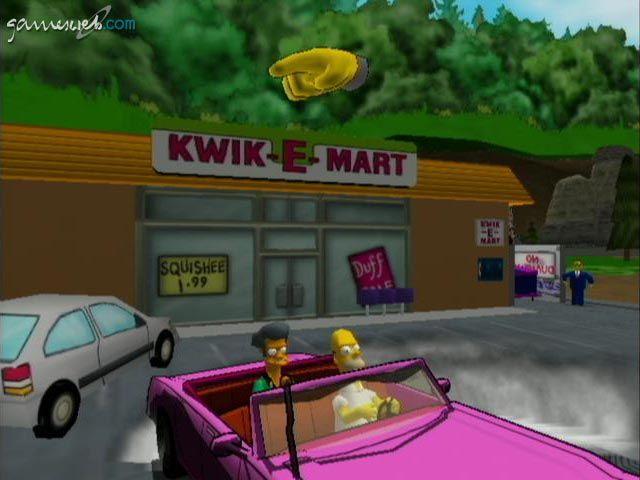 Simpsons Road Rage  Archiv - Screenshots - Bild 6