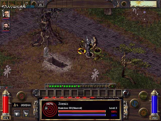 Arcanum - Screenshots - Bild 4