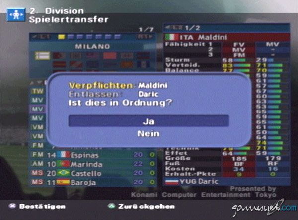 Pro Evolution Soccer - Screenshots - Bild 3