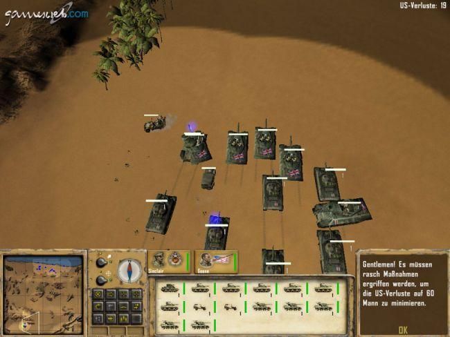 Afrika Korps vs. Desert Rats - Screenshots - Bild 11