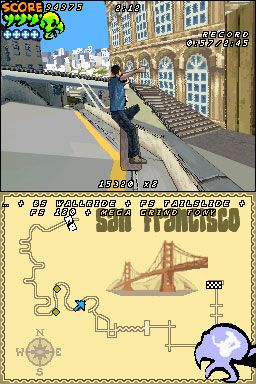 Tony Hawk's Downhill Jam (DS)  Archiv - Screenshots - Bild 18