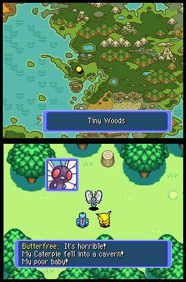 Pokémon Mystery Dungeon: Blue Rescue Team (DS)  Archiv - Screenshots - Bild 10