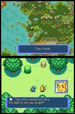 Pokémon Mystery Dungeon: Blue Rescue Team (DS)  Archiv - Screenshots - Bild 9