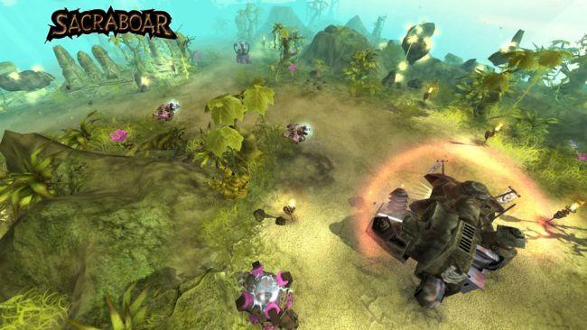 Sacraboar - Screenshots - Bild 1