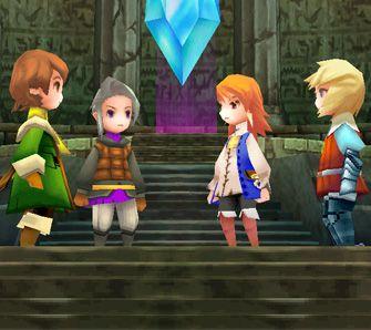 Final Fantasy 3 - Test