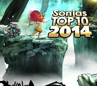 Top 10 Sonjas Spiele des Jahres - Special