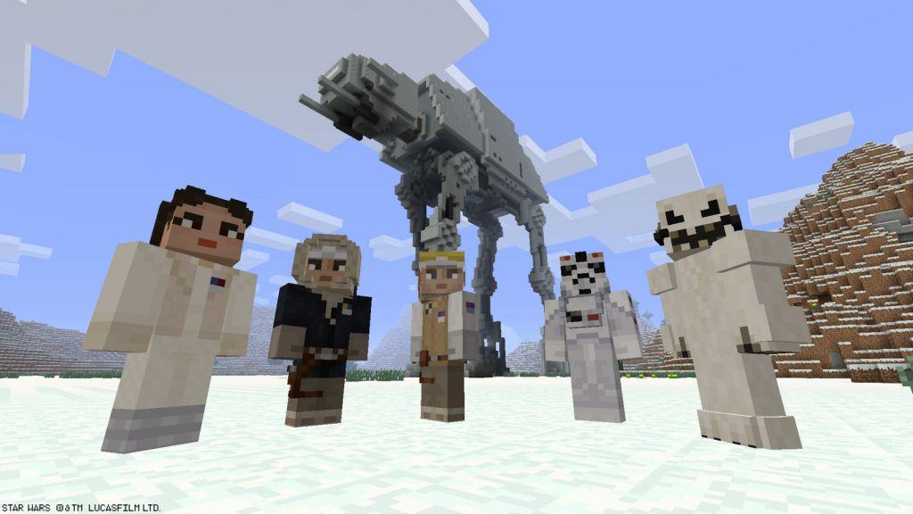Minecraft StarWarsSkinPacks Für Die PlayStationVersionen News - Minecraft spieler skin download
