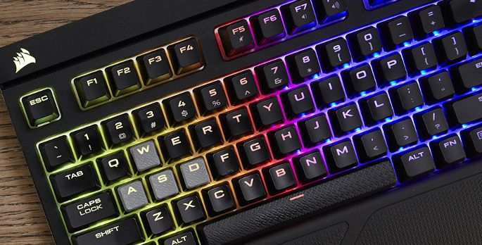 Corsair Gaming STRAFE RGB MX Silent - Test
