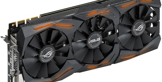ASUS ROG Strix GTX 1080 O8G Gaming - Test