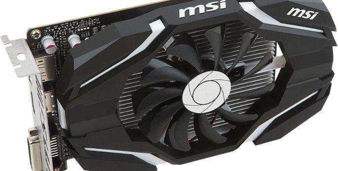 MSI GeForce GTX 1050 2G OC - Test