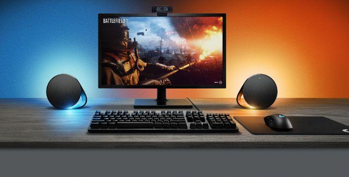 Logitech G560 Lightsync PC Gaming Lautsprecher - Test