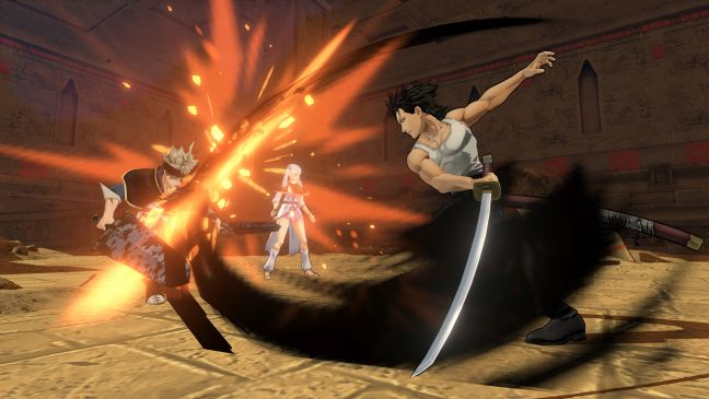 Black Clover: Quartet Knights - Screenshots - Bild 1