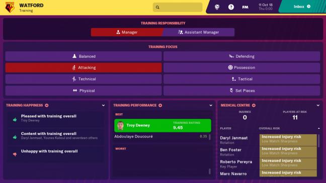 Football Manager 2019 Touch - Screenshots - Bild 1