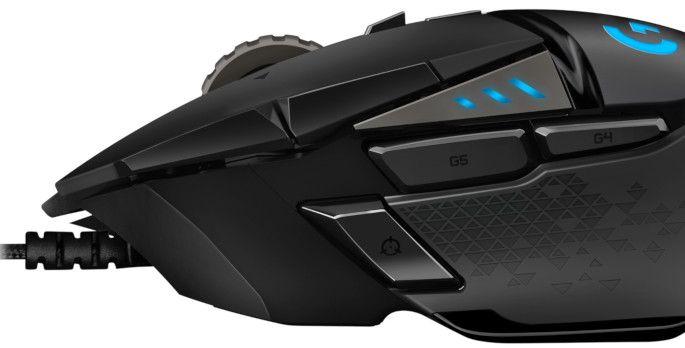Logitech G502 Hero - Test