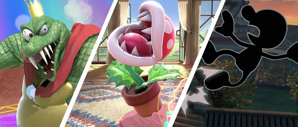 Top 10: Die schrägsten Smash-Charaktere