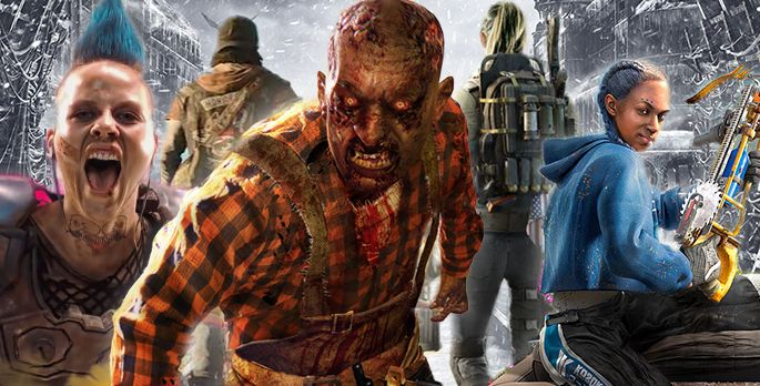 Far Cry, Rage, Days Gone, Metro, Dying Light, The Division - Special