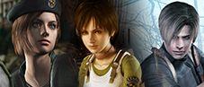 Resident Evil Remake, Zero & 4