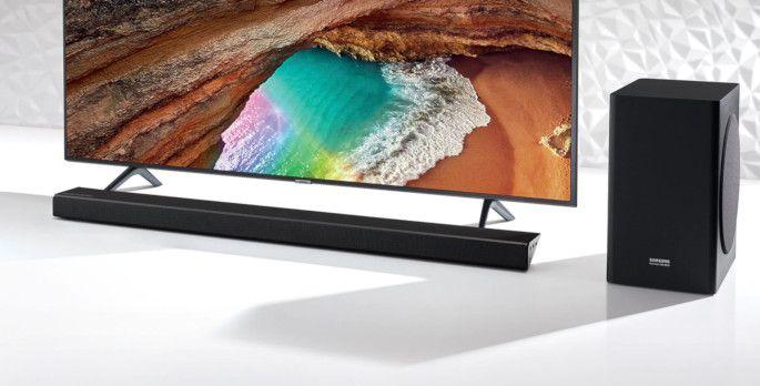Samsung Q60R TV + Soundbar