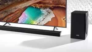 Samsung Q60R TV + Soundbar