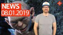 Gameswelt News 08.01.2020 - Mit Herr der Ringe und Xbox Game Pass
