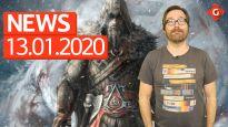 Gameswelt News 13.01.2020 - Mit Assassin's Creed und Fallout 76