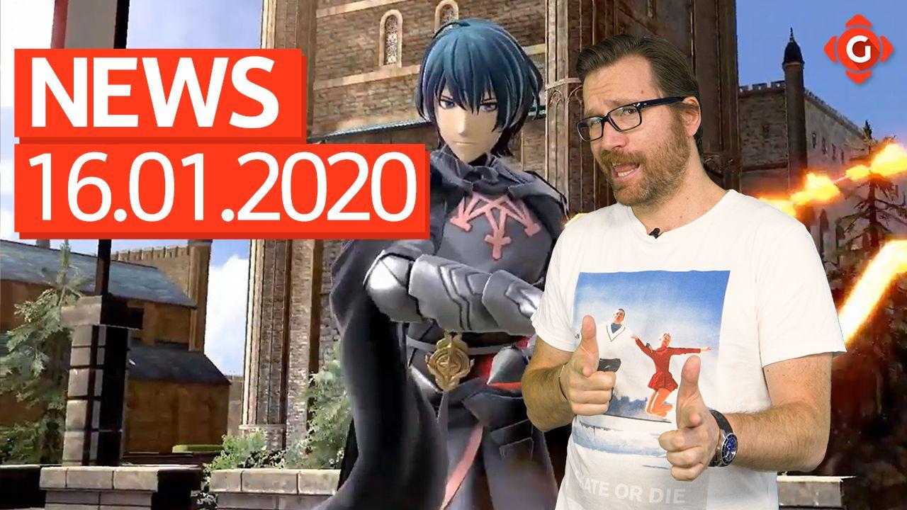 Gameswelt News 16.01.2020 - Mit Super Smash Bros. Ultimate und Star Wars Jedi: Fallen Order