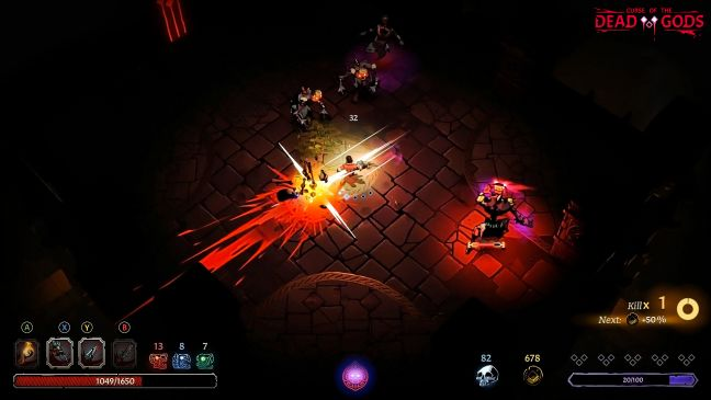 Curse of the Dead Gods - Screenshots - Bild 1