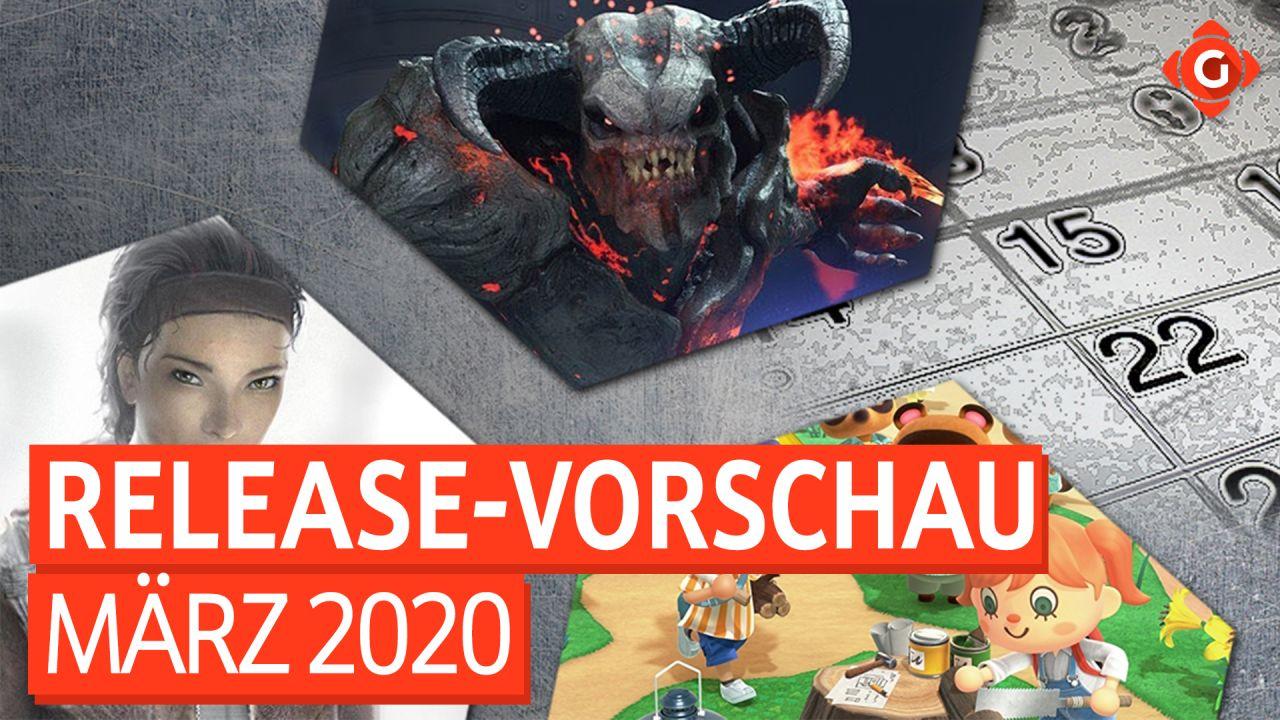 Release-Vorschau März 2020 - DOOM Eternal, Animal Crossing: New Horizons, Half-Life: Alyx und mehr