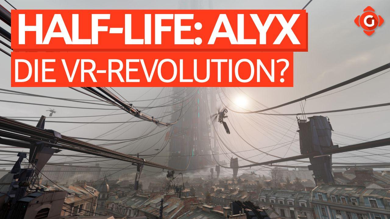 Die VR-Revolution - Video-Review zu Half-Life: Alyx