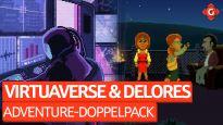 Adventure-Doppelpack - Wie gut sind VirtuaVerse und Delores: A Thimbleweed Park Mini-Adventure?