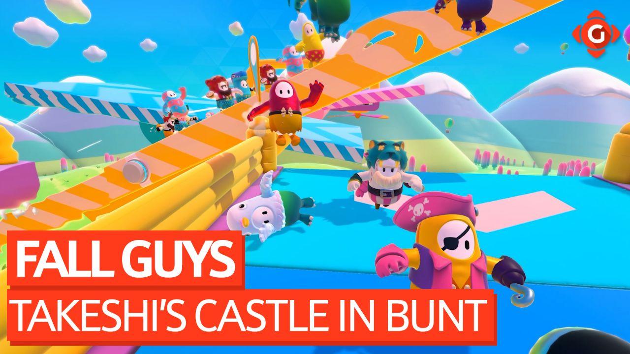 Takeshi's Castle trifft auf American Gladiators - Felix zockt Fall Guys