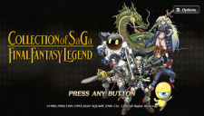 Collection of SaGa Final Fantasy Legend - Video