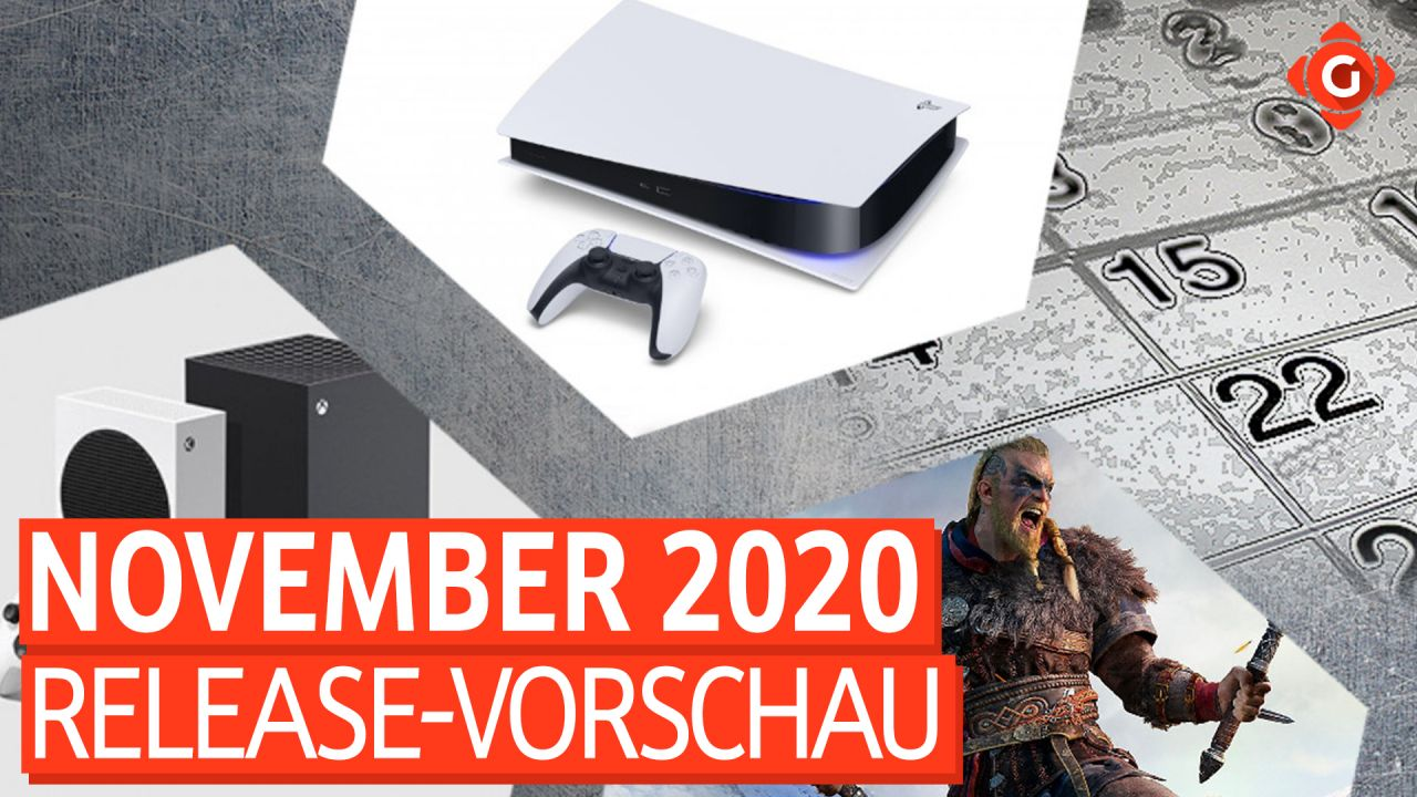 Release-Vorschau November 2020 - Assassin's Creed Valhalla, Next-Gen-Konsolen und mehr