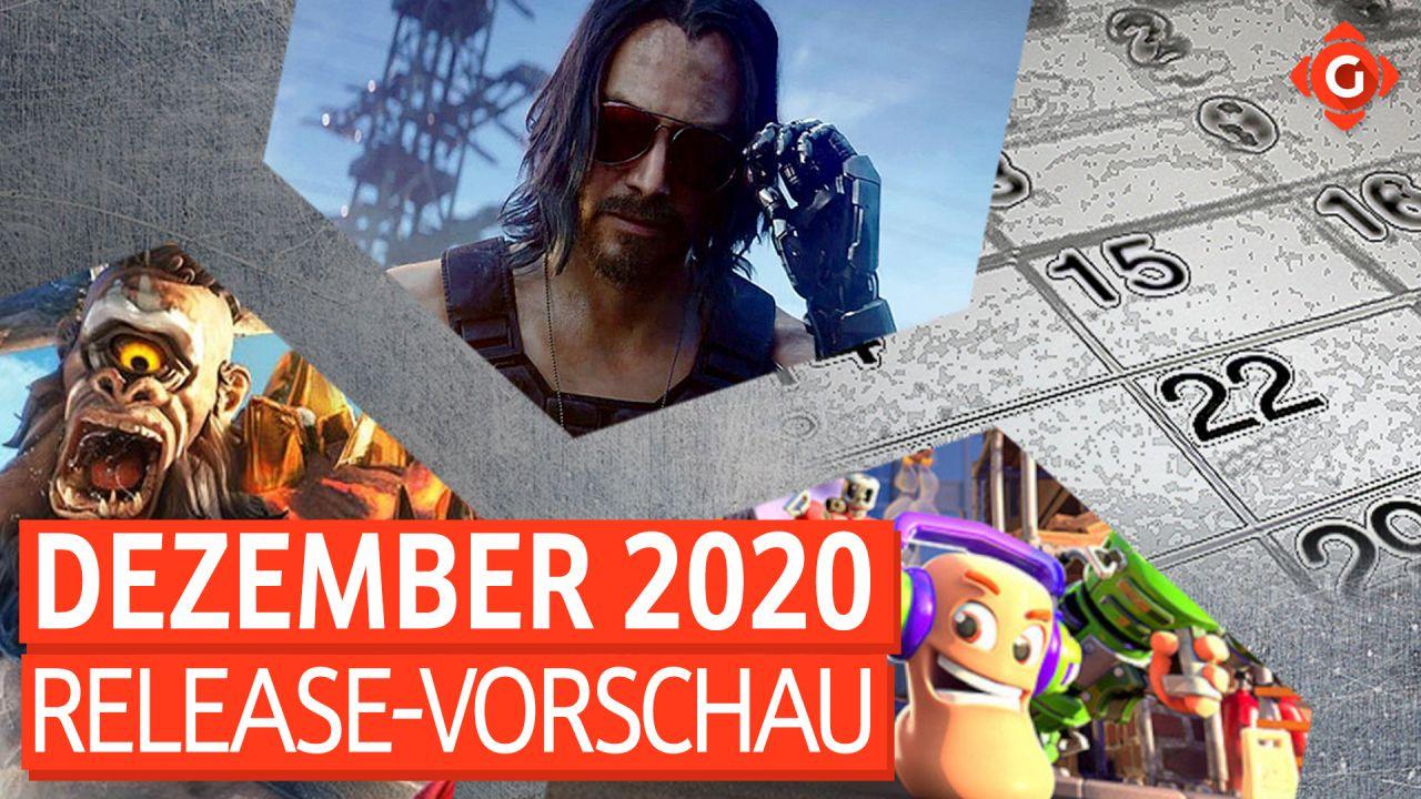 Release-Vorschau Dezember 2020 - Cyberpunk 2077, Immortals: Fenyx Rising und mehr