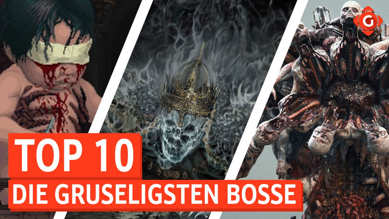 Top 10 - Die gruseligsten Bosse