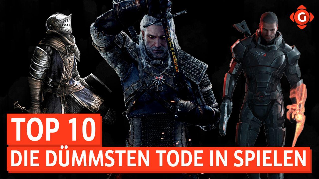 Top 10 - Die dümmsten Tode in Spielen