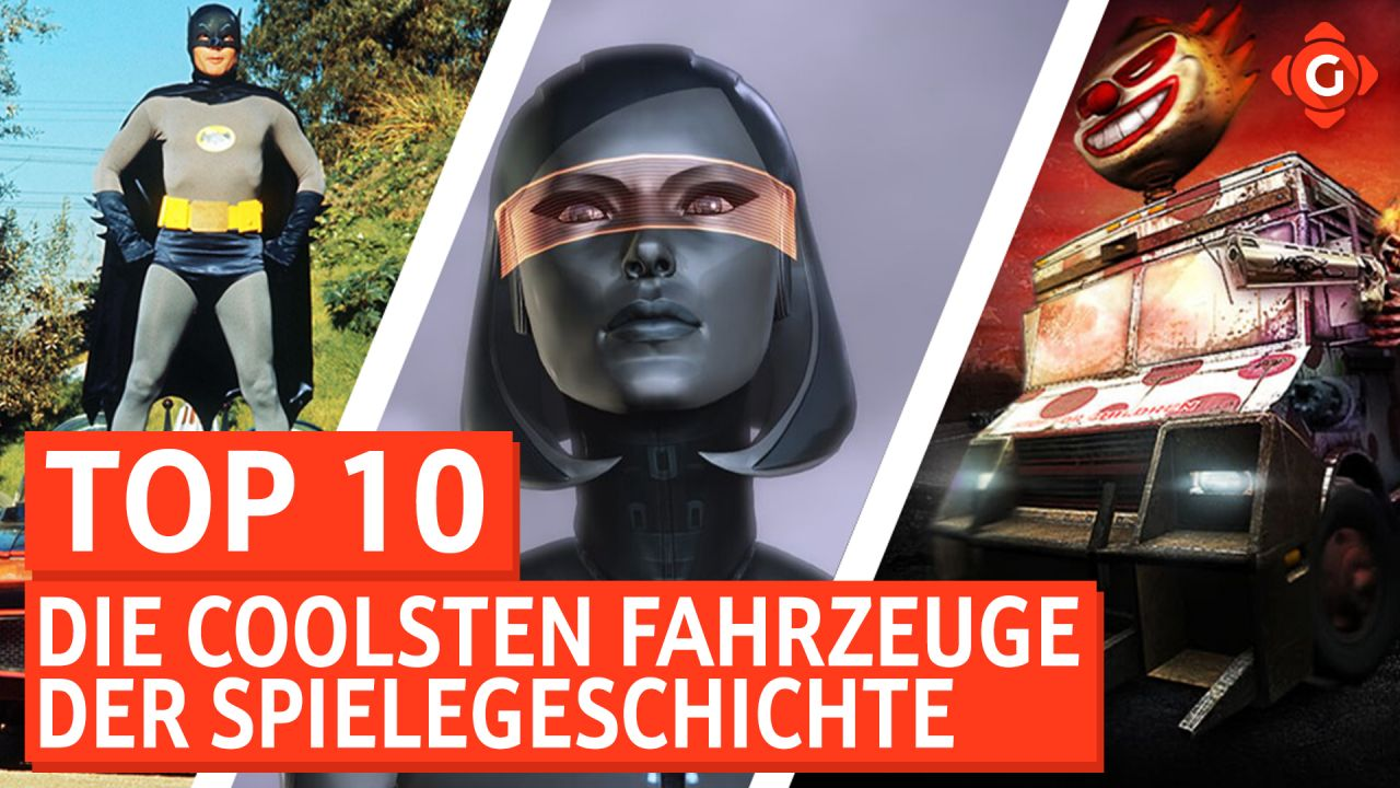 Top 10 - Die coolsten Fahrzeuge der Spielegeschichte