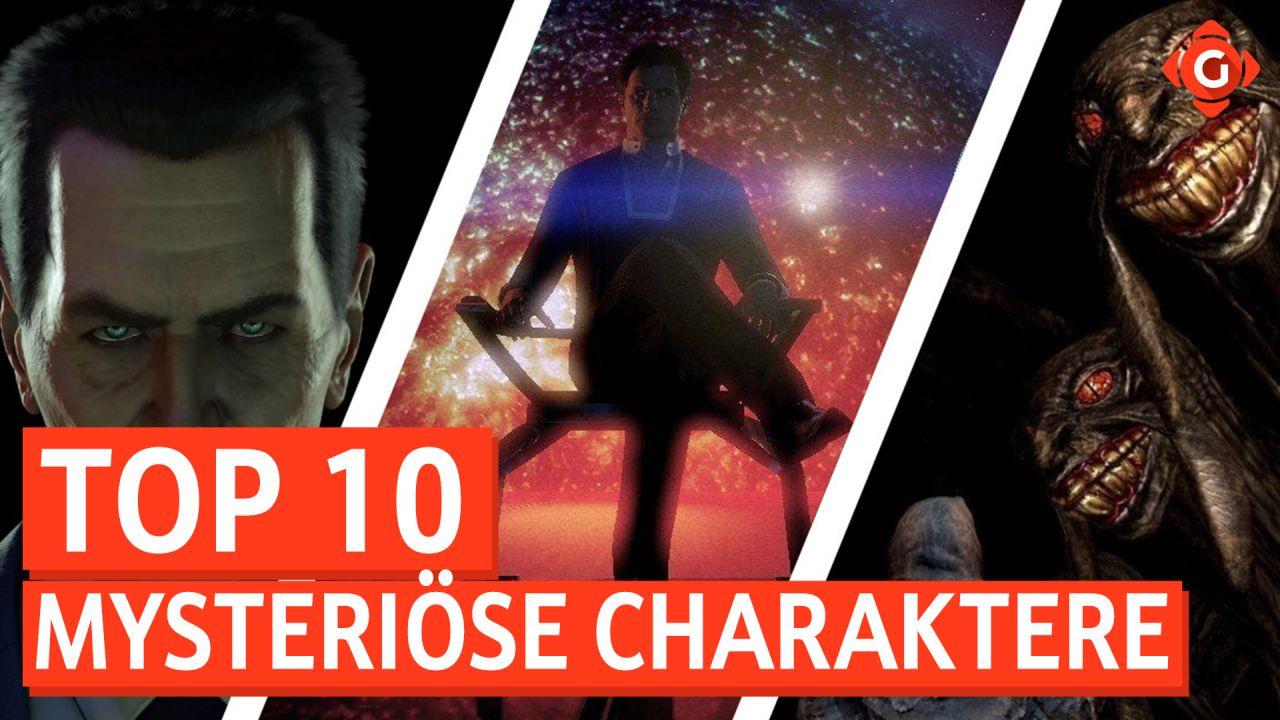 Top 10 - Mysteriöse Charaktere