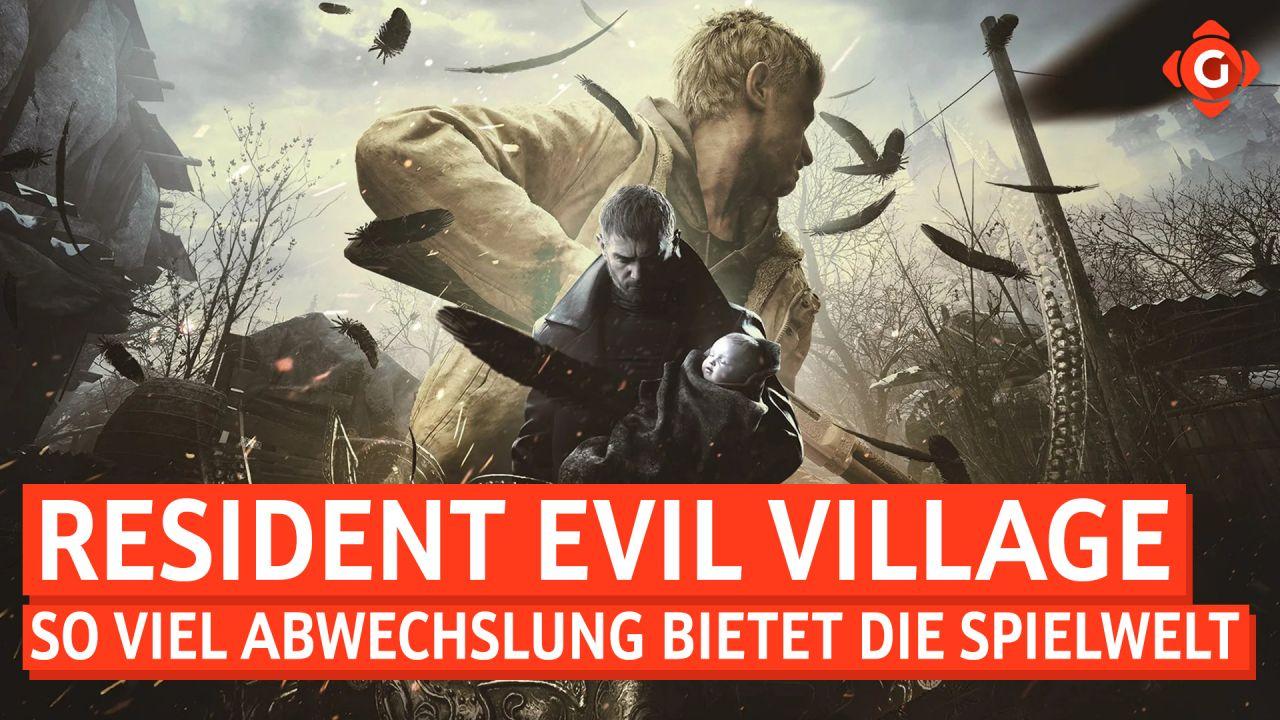 Resident Evil Village - So viel Abwechslung bietet die Spielwelt
