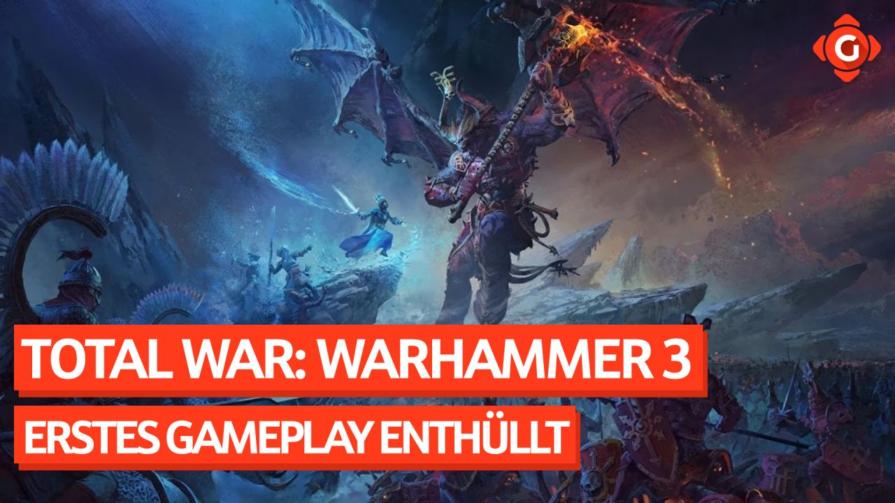 Gameswelt News 14.05.2021 - Mit Total War: Warhammer 3, Ghostrunner 2 und mehr
