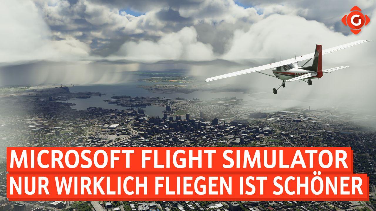 Nur wirklich fliegen ist schöner - Special zum Microsoft Flight Simulator für Xbox Series X/S