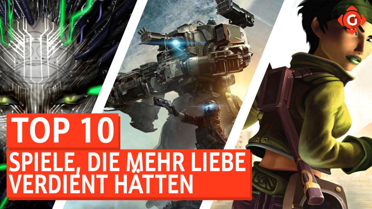Top 10 - Spiele, die mehr Liebe verdient hätten