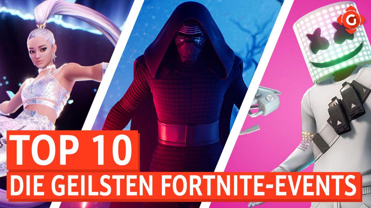 Top 10 - Die geilsten Fortnite-Live-Events