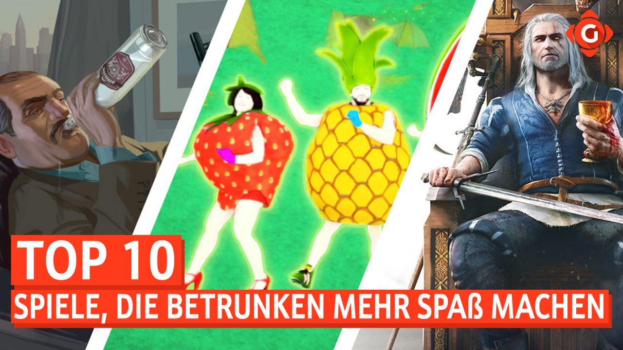 Top 10 - Spiele, die betrunken mehr Spaß machen