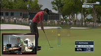 Tiger Woods PGA Tour 11 - Tiger Woods mit Move gespielt